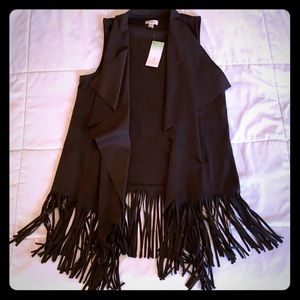 DECREE BRAND LADIES VEST WITH FRINGES